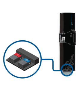 Touchfree Water Cooler WS12000 with dual foot pedal