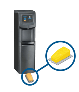 Touchfree Water Cooler single pedal with 2i cooler